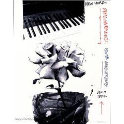 Robert Rauschenberg New York Philharmonic 150th Anniv