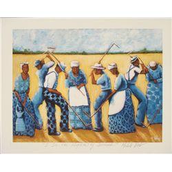 Michele Wood : I See the Rhythm of Spirituals Art Print