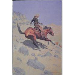 The Cowboy Frederic Remington Print On Canvas Art
