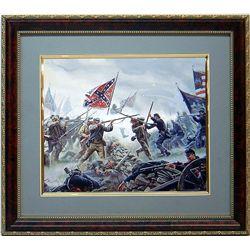 Mort Kunstler Civil War Gettysburg Print Frmd High Tide