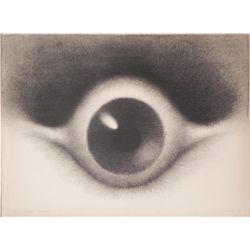 Artist Signed Proof Art Print Large Eyeball