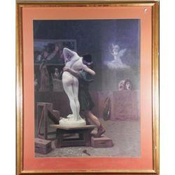 Jean-Leon Gerome Pygmalion and Galatea Greek Art Print