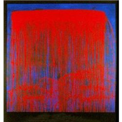 Pat Steir Night Swing Signed and Numbered Serigraph