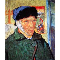 Vincent Van Gogh Bandaged Ear Limited Edition Giclee