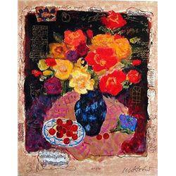 Alexander & Wissotzky Bouquet of Life S/N Serigraph Art