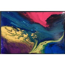 Alyat Original Abstract Painting -Acrylic on Canvas