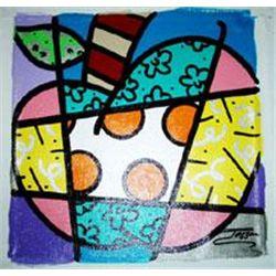 Jozza Original Pop Art Painting Big Apple 2
