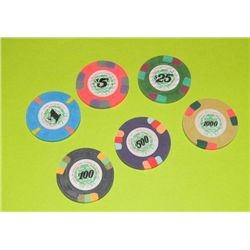 License to Kill Prop Poker Chips