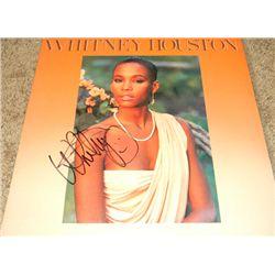 Whitney Houston Signed LP