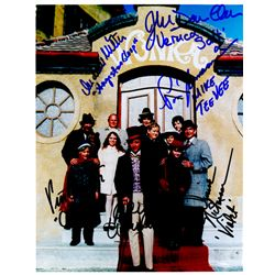 Willy Wonka and the Chocolate Factory Cast Signed 8x10 Photo