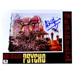 Psycho 8x10 Photo Signed by Janet Leigh and Anthony Perkins
