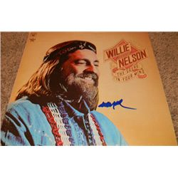 """Willie Nelson """"The Sound in Your Mind"""" Signed LP"""
