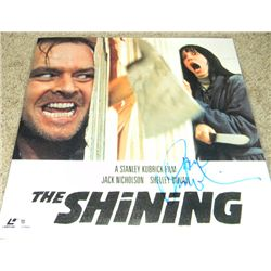 Jack Nicholson The Shining Signed Laser Disc Cover