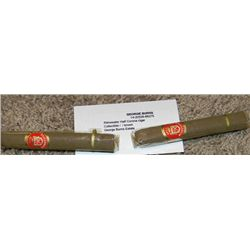 George Burns Personal Pair of Rittmeester Cigars