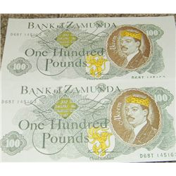 Coming To America Prop Currency Bills