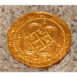 Johnny Depp Pirates of the Caribbean Prop Doubloon
