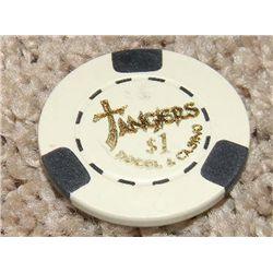 Robert DeNiro Casino Prop Tangier's Poker Chip