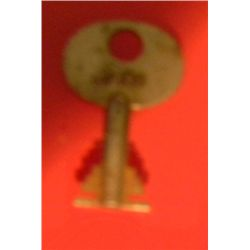 Harry Houdini Owned and Used Handcuff Key