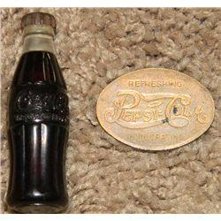 1940s Pepsi and Coca-Cola Memorabilia Lot
