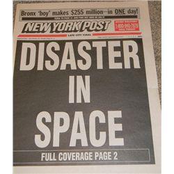 Armageddon Prop Newspaper