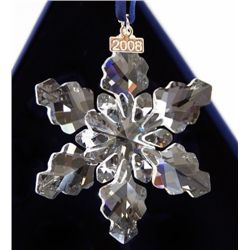 921ee72c632d Swarovski 2008 Annual Limited Edition Christmas Ornament MINT IN BOX!