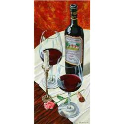 Dima Gorban, Evening Romance, Signed Serigraph