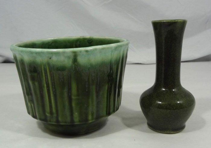 iCollector & McCoy Flower Vase and Flowerpot