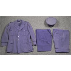 U.S. 1950S COMPLETE AIR FORCE UNIFORM-COAT,PANTS,HAT 43