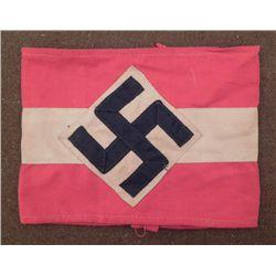 Nazi Swastika Armband Stamped Berlin 1941 -Repro