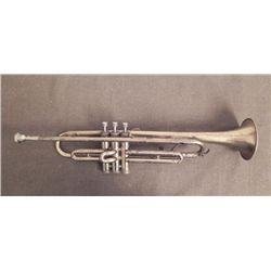 "VINTAGE ""ALLIANCE"" TRUMPET-ENGRAVED"