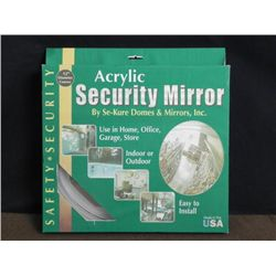 NEW 12  SECURITY MIRROR-CONVEX-W/HARDWARE-UN-OPENED