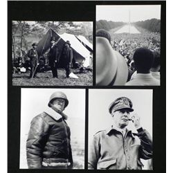 4 Photos - Great American Leaders, Patton, Lincoln