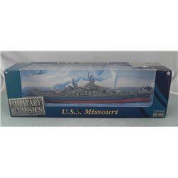 U.S.S. Missouri Battleship 1:700 Military Classics MIB