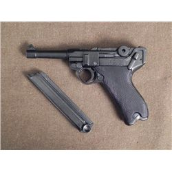 NAZI P-08 LUGER-OUTSTANDING REPLICA-RECEIVER TOGGLES