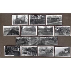 NAZI CONCENTRATION CAMP PHOTOS-ORIGINAL-W/NAZI DESCRIPT