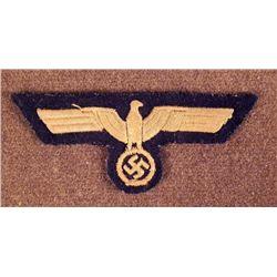 NAZI KRIEGSMARINE/NAVY HI QUALITY UNIFORM BREAST EAGLE