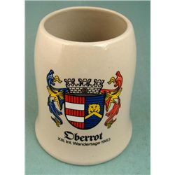 GERMAN MUG FROM THE OBERROT REGION-1983 1/2 LITRE