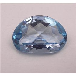 HIGH END VVS 1 CERTIFIED 64.1 CT SWISS BLUE TOPAZ