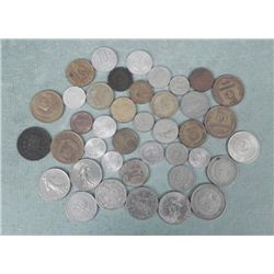 Lot 40 European Coins England, Spain, Italy...1882-1967