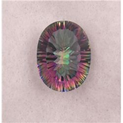 BRILLIANT MULTI COLOR 16 CT MYSTIC QUARTZ