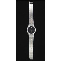Movado Museum Watch Mens -Black, Stainless Steel