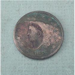 1828 U.S. Large Cent Hi-Grade, Nice Coin