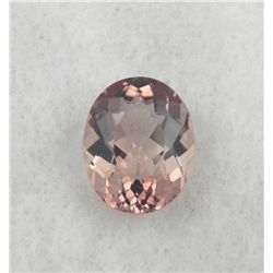 BEAUTIFUL RARE UNHEATED 4.93 CT CHAMPAGNE COLOR TOPAZ