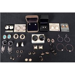 20+ Pcs Costume Jewelry Earrings Hoop, Pendant