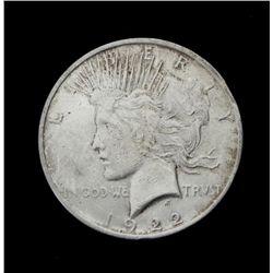 1922 Hi-Grade Peace Silver Dollar