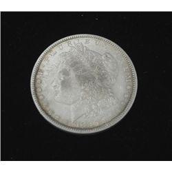 1880 Morgan Silver Dollar -Nice Detail