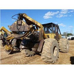 CAT 518 VHP GRAPPLE SKIDDER, S/N 9W8256, SINGLE ARCH, WINCH