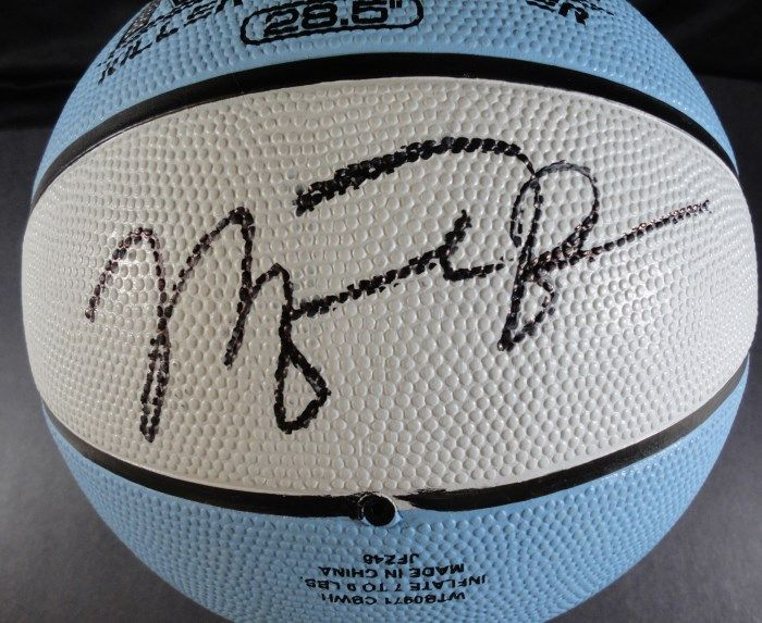 best sneakers 6dbdd 0adfd Michael Jordan AUTOGRAPHED Basketball