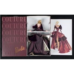 Couture Portrait in Taffeta Barbie Doll Mint in Box