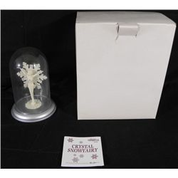 Crystal Snowfairy Figurine Ornament by Mark Klaus MIB